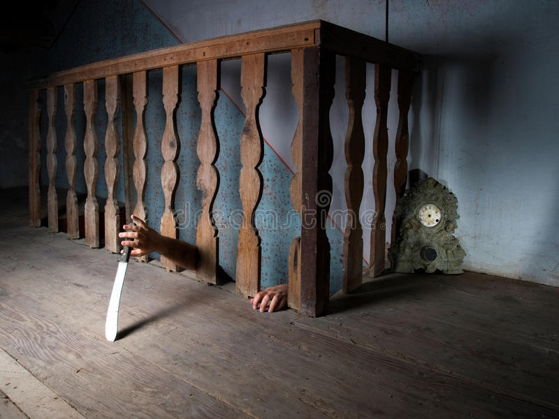 Download Killer in the basement stock image. Image of history - 13724613