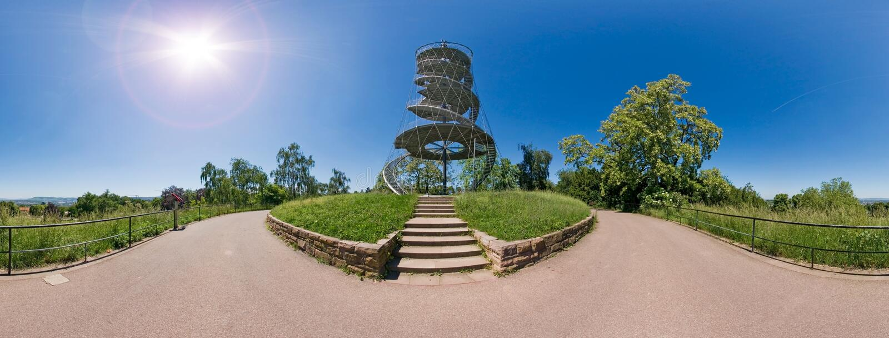 Killesberg-Turm stockfotografie