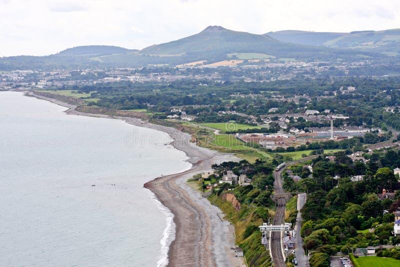 Killineybaai Dublin, Ierland royalty-vrije stock afbeelding