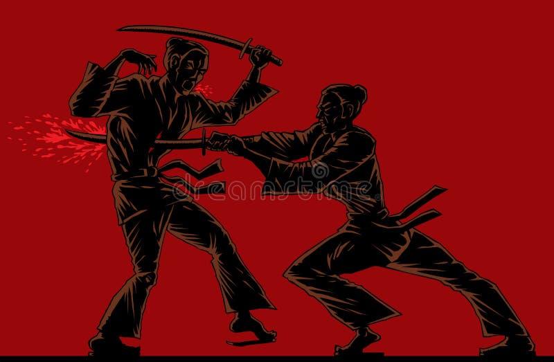 Download Killing blow stock vector. Illustration of kill, outline - 28723542