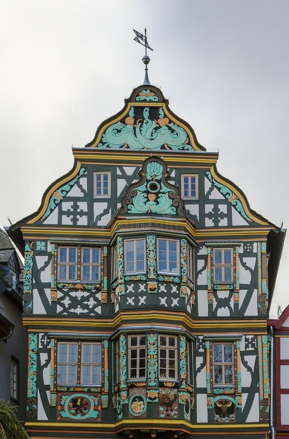 Killingerhaus en Idstein, Alemania fotografía de archivo