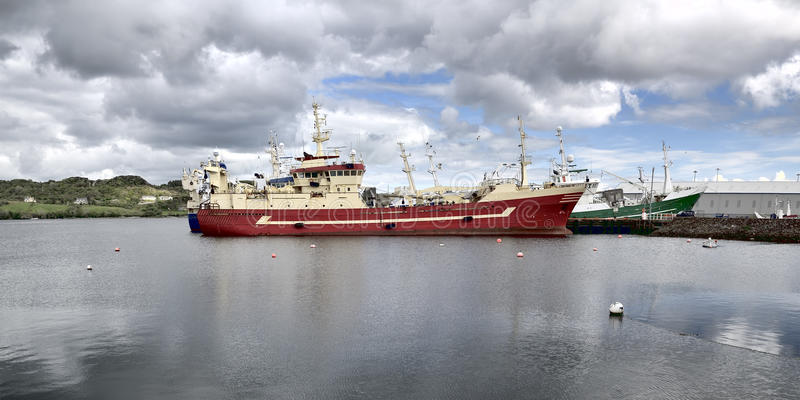 Killybegs harbour royalty free stock images
