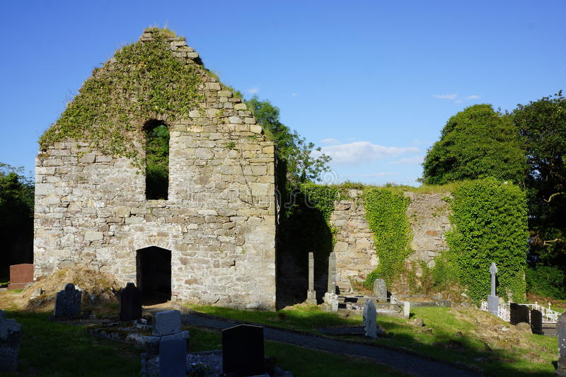 Killydonnell Friary Entrance. Killydonnell Friary was founded in 1471 by the O Donnells for Franciscan Friars on the site of an older church erected by the O stock photos