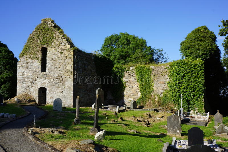 Killydonnell Friary. Was founded in 1471 by the O Donnells for the Franciscan Friars on the site of an older church erected by the O Tonners.The Friary is royalty free stock photography