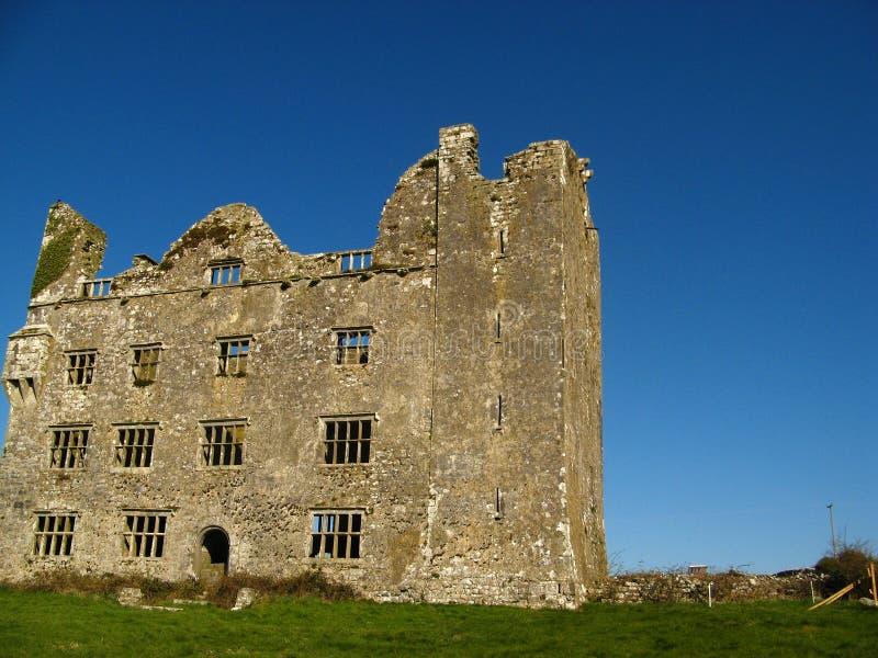 Kilmacdaugh Castle Ruins 02 royalty free stock photos
