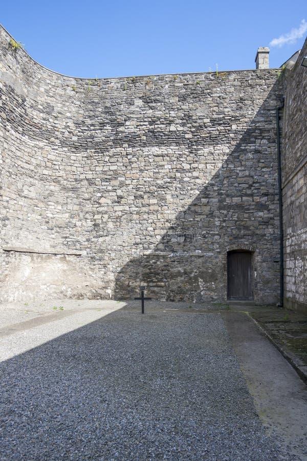Kilmainham Gaol a Dublino fotografia stock libera da diritti