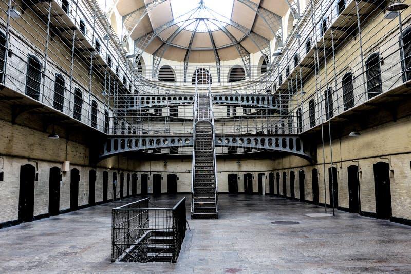 Kilmainham Gaol. A former prison in Kilmainham, Dublin, Ireland, used by British to imprison the Irish revolutionaries royalty free stock photography