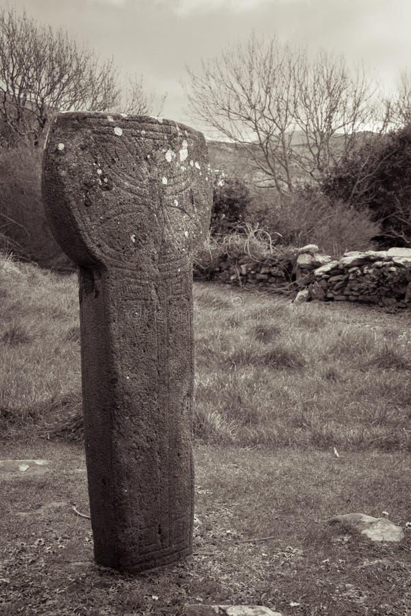 Kilmalkedar solur Dinglehalvö ireland royaltyfri bild