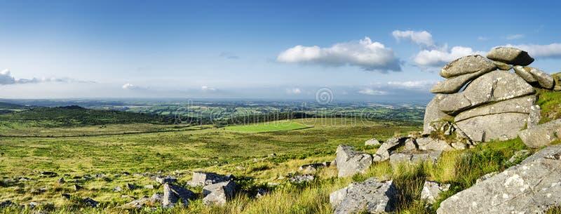 Kilmar-Felsen in Cornwall stockbilder