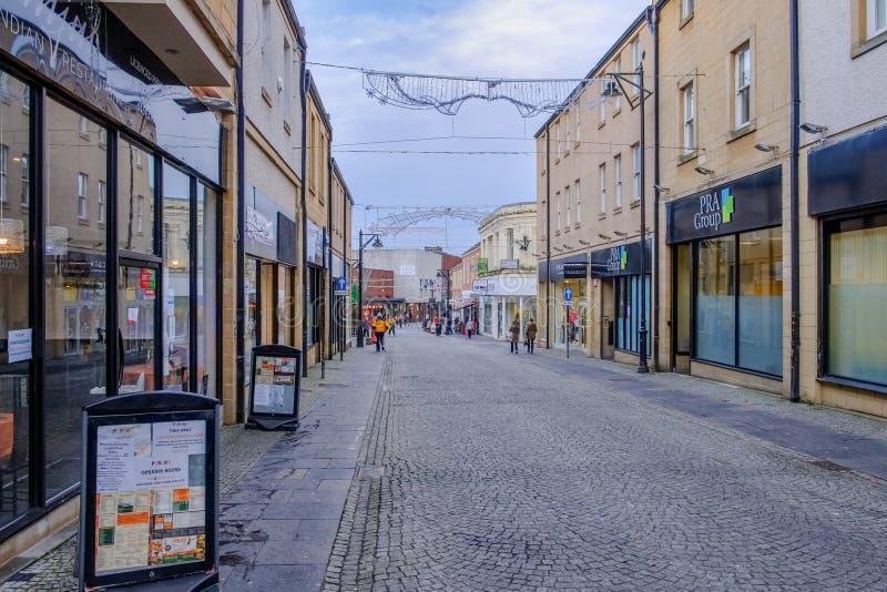 Kilmarnock-Stadtmitte-Ostayrshire-rind Schottland lizenzfreies stockbild