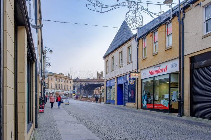 Kilmarnock-Stadtmitte-Ostayrshire-rind Schottland stockfotos