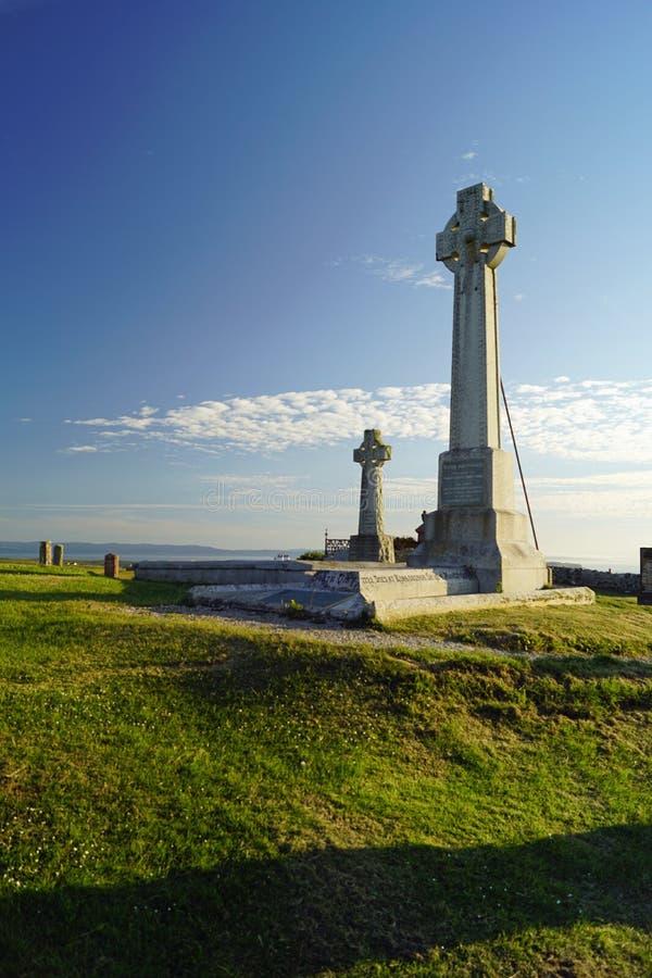 Kilmuirbegraafplaats, het Graf van Flora MacDonald ` s stock afbeelding