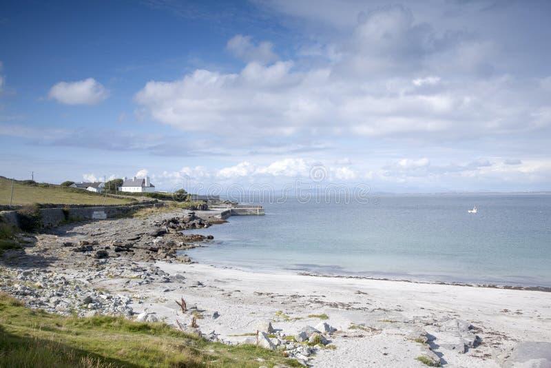 Kilmurvey Beach, Inishmore; Aran Islands. Ireland royalty free stock photos