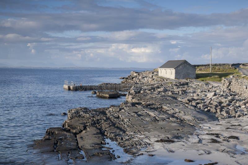 Kilmurvey Beach, Inishmore; Aran Islands. Ireland royalty free stock images