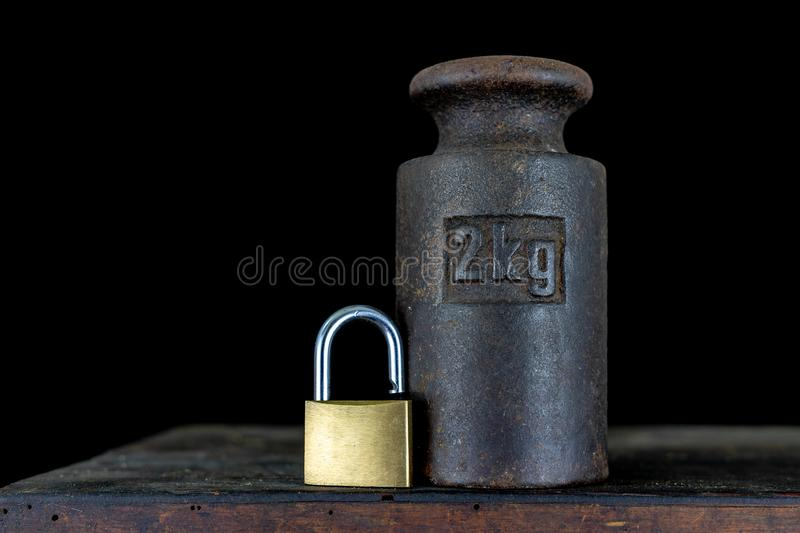 Two Kilogram Weight Stock Image  Image Of Single  Mass