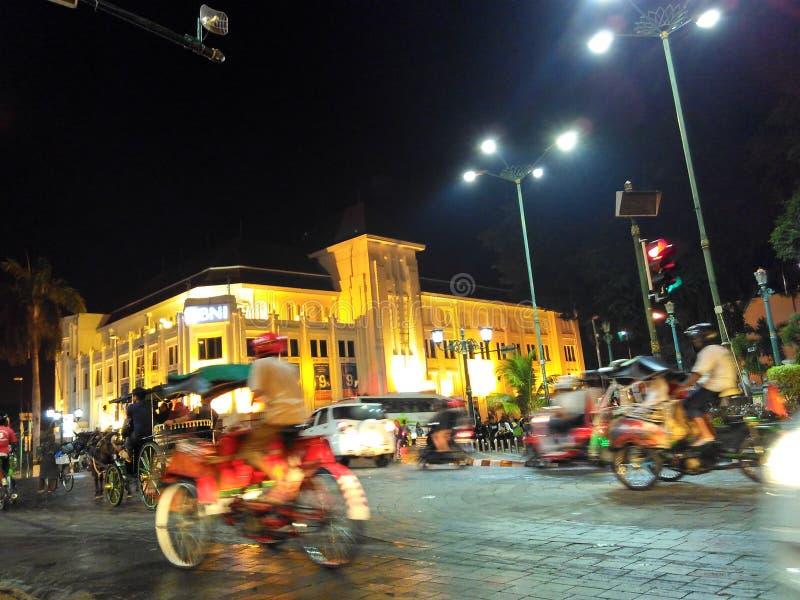 0 kilomètres Yogyakarta photos stock