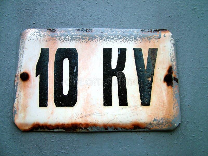 Kilovoltage 10 Royalty-vrije Stock Foto