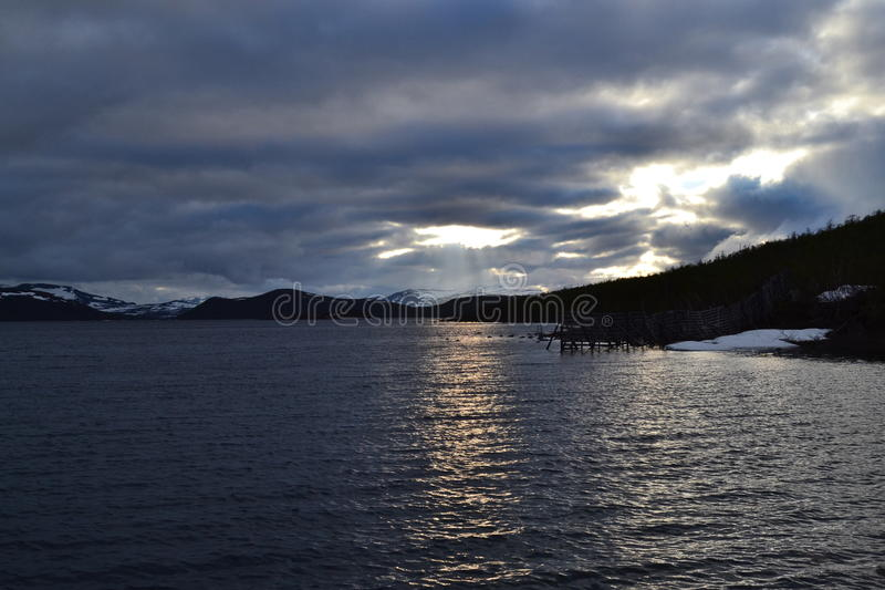 Kilpisjärvi 库存照片