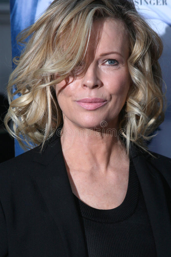 Kim Basinger. Arriving at the Informers LA Premiere at the ArcLight Theaters in Los Angeles, CA on April 16, 2009 royalty free stock photography