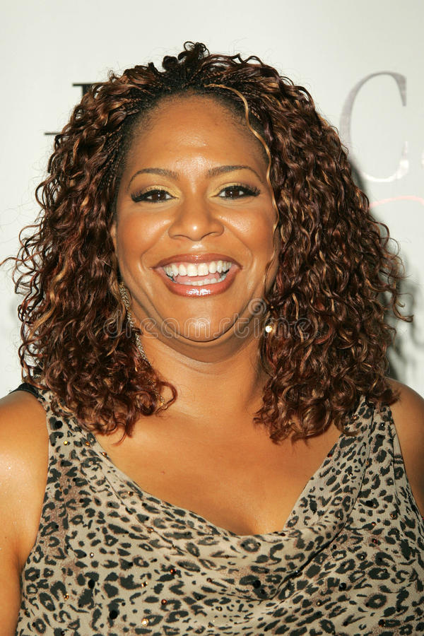Kim Coles. At the Celebrity Catwalk for Charity Fashion Show, Henry Fonda Theatre, Los Angeles, CA 08-26-05 royalty free stock images