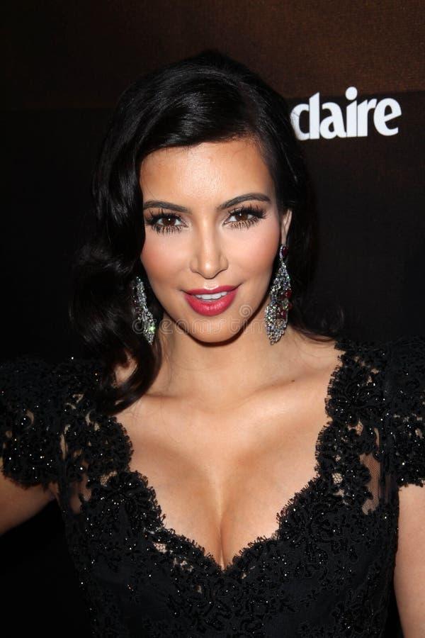 Kim Kardashian fotografia stock libera da diritti