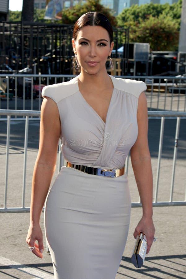 Kim Kardashian fotografia de stock