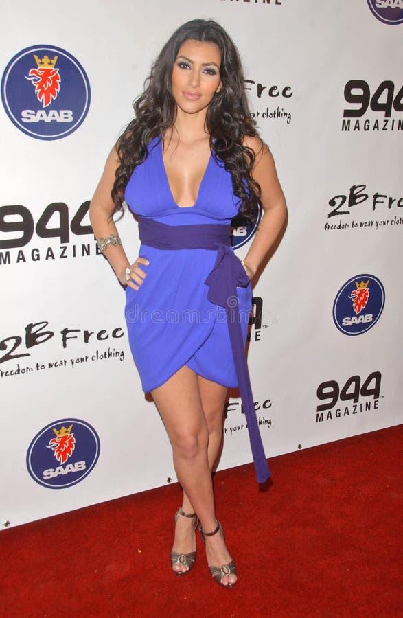 Kim Kardashian fotografie stock libere da diritti