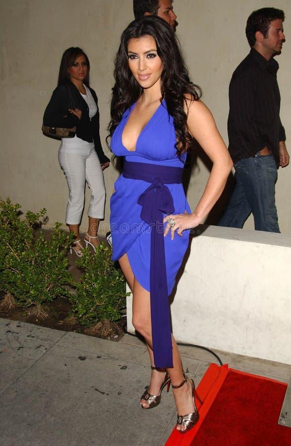 Kim Kardashian image libre de droits