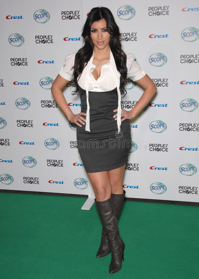 Kim Kardashian fotos de stock royalty free