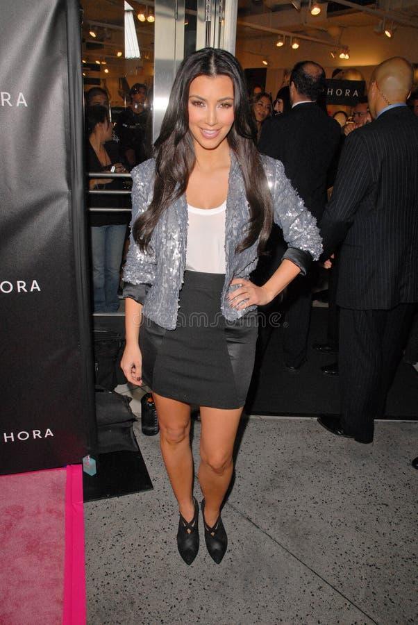 Kim Kardashian stockfotografie