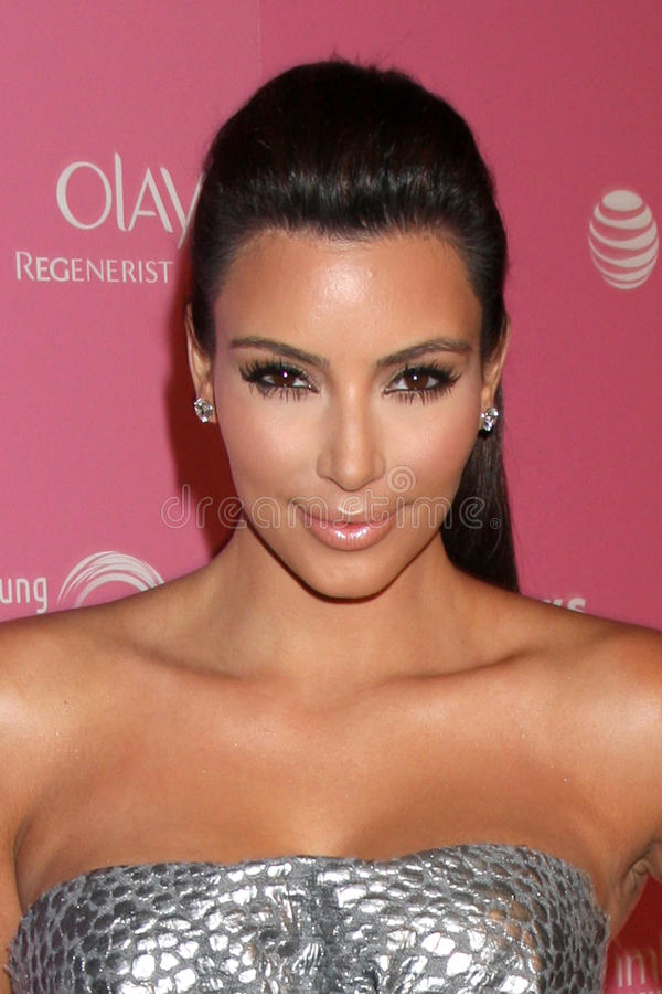 Kim Kardashian imagens de stock royalty free
