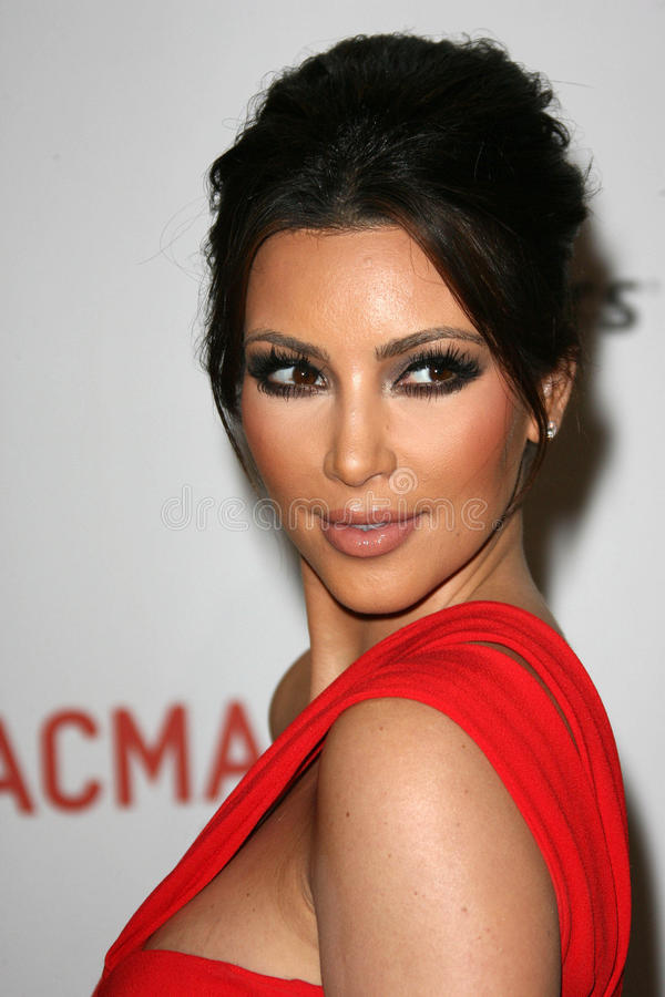 Kim Kardashian photo stock