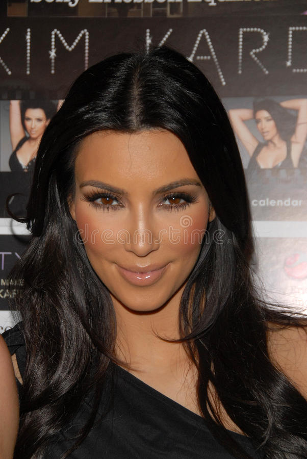 Kim Kardashian fotos de stock