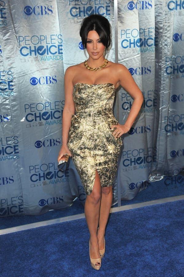 Kim Kardashian fotografia de stock royalty free