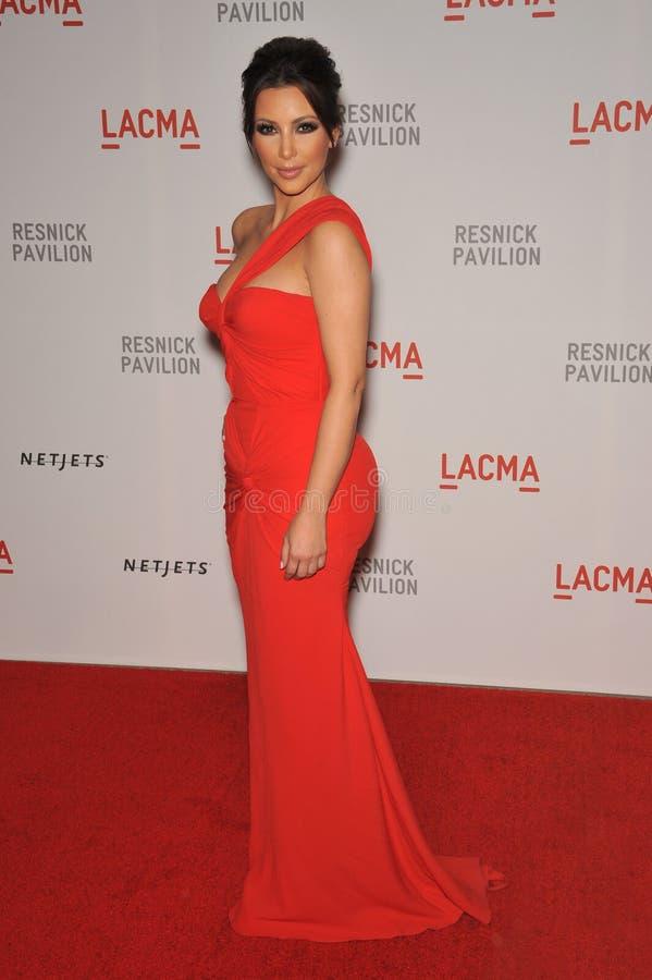 Kim Kardashian foto de stock royalty free