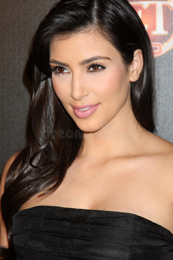 Kim Kardashian photo stock