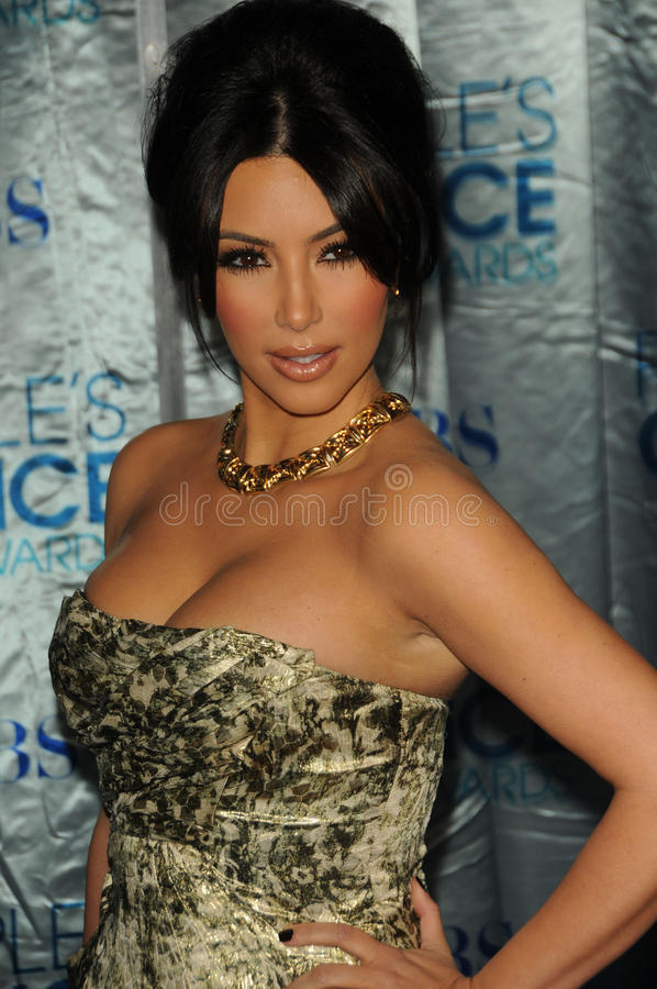 Kim Kardashian imagens de stock