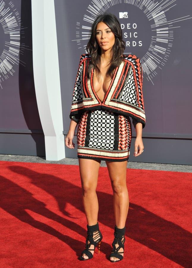 Kim kardashian fotografia stock
