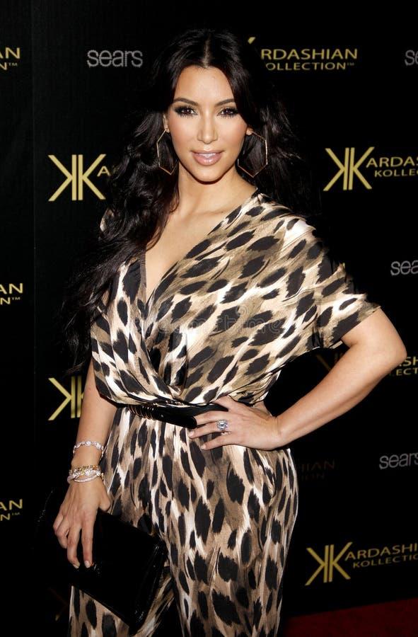 Kim kardashian zdjęcia royalty free