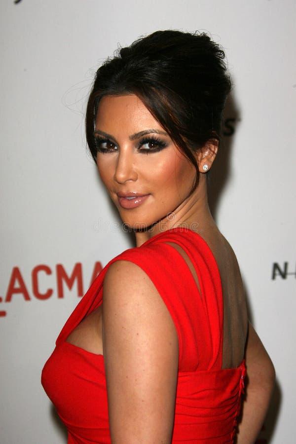 Kim Kardashian imagen de archivo libre de regalías