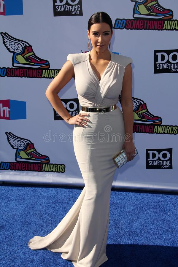 Kim Kardashian fotografía de archivo libre de regalías