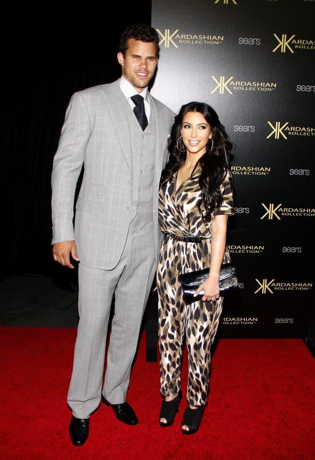 Kim Kardashian et Kris Humphries photos stock