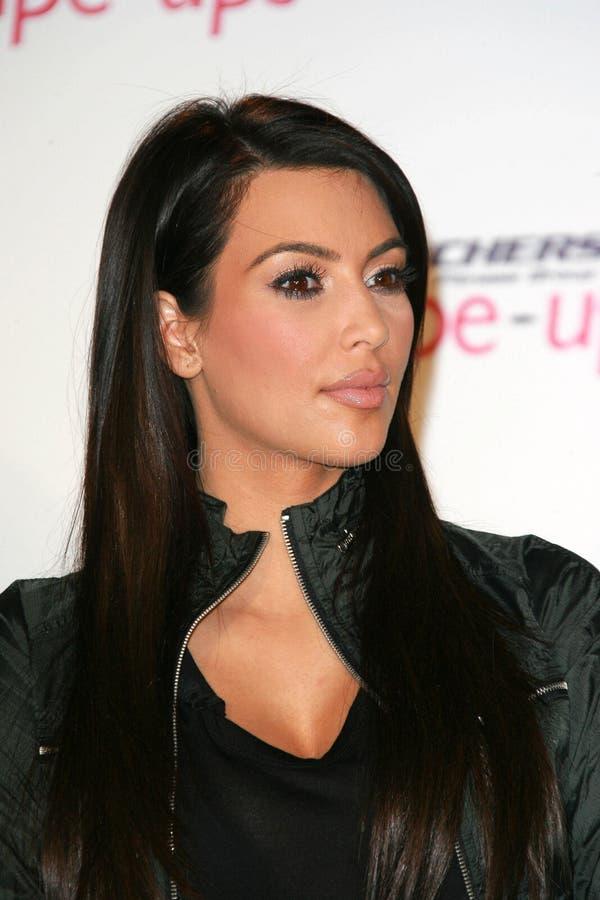 Kim Kardashian, Kris Jenner image stock