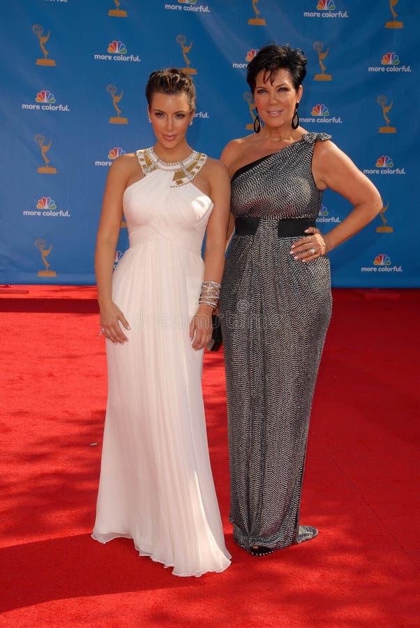 Kim Kardashian, Kris Jenner photographie stock libre de droits