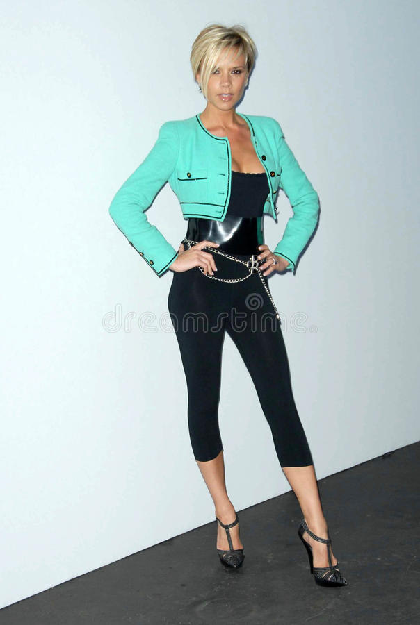 Victoria Beckham imagem de stock royalty free