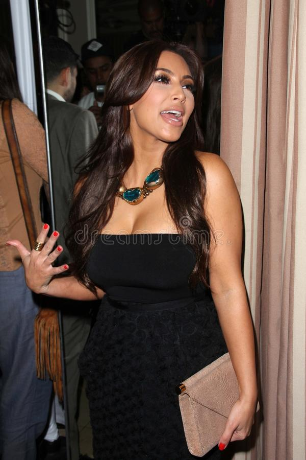 Kim Kardashian. At the Noon By Noor Launch Event, Sunset Tower Hotel, West Hollywood, CA 07-20-11 royalty free stock image