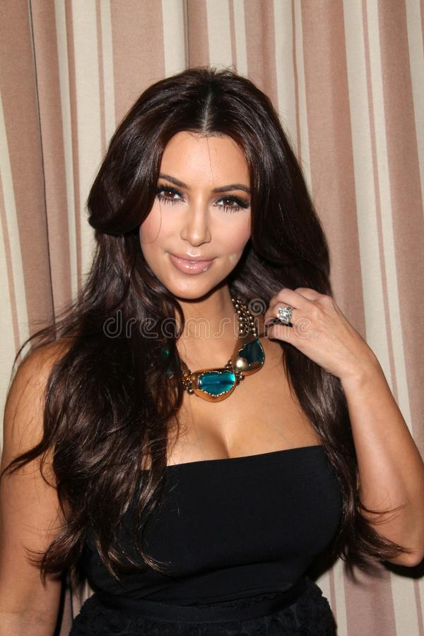 Kim Kardashian. At the Noon By Noor Launch Event, Sunset Tower Hotel, West Hollywood, CA 07-20-11 royalty free stock photos