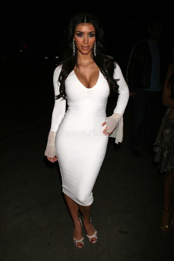 Kim Kardashian royaltyfria foton