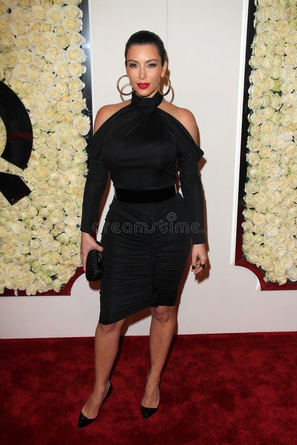 Kim Kardashian, quatre saisons photographie stock libre de droits