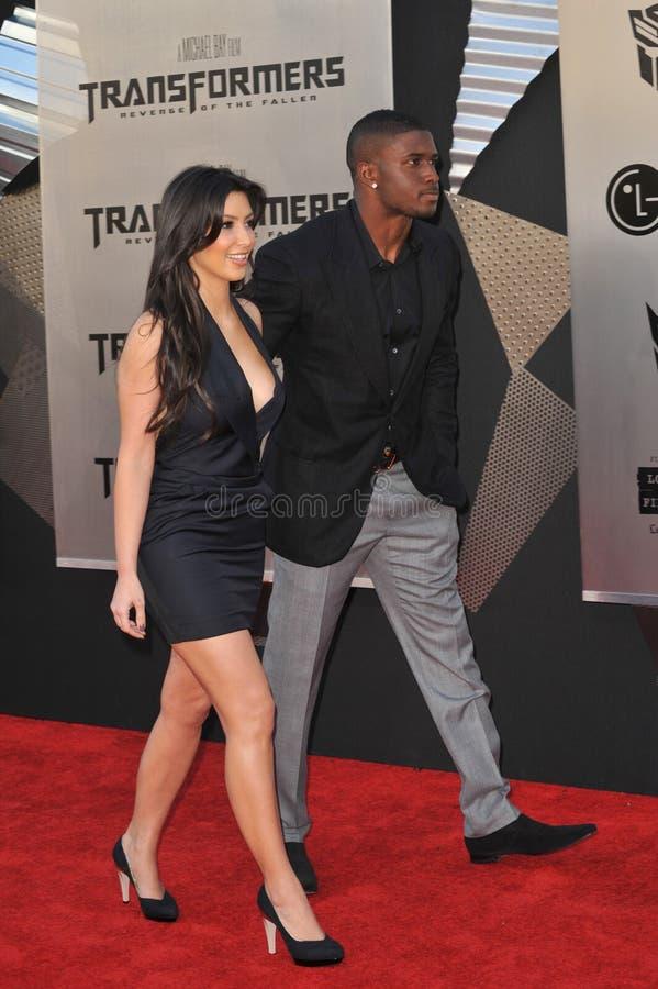 Kim Kardashian, Reggie Bush photos stock